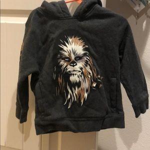 GAP toddler Chewbacca sweatshirt